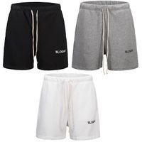 nuevo pantalón de diseño corto al por mayor-Pantalones cortos de verano de diseñador para hombres Pantalones cortos deportivos de los nuevos hombres al aire libre Pantalones cortos simples y de color puro Diseño Versión suelta Pantalones cortos de dasketball