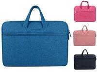 Wholesale felt macbook sleeve resale online - Laptop Bag Soft Wood Felt Sleeve Bag Case For Apple Macbook Air Pro Retina Laptop For Mac Book Inch