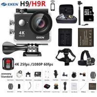 Wholesale h9 4k camera for sale - Group buy Original EKEN H9 H9R Action Camera Ultra HD K fps P fps WiFi D go Mini Pro Underwater Waterproof Helmet Sport Cam