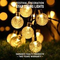 luzes de malha líquidas led brancas venda por atacado-AC220V Led Lâmpada Corda Forma de Bola de Luz Luzes de Natal Indoor 10 M Branco Quente 5-10 W Decorações de Natal Para Casa Ao Ar Livre