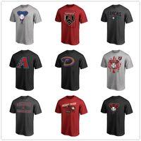 johnson shorts venda por atacado-21 Zack Greinke Arizona 51 Randy Johnson Diamondbacks Camisetas de beisebol camisa de manga curta Mens graphic tees Fãs Tops impresso Logos