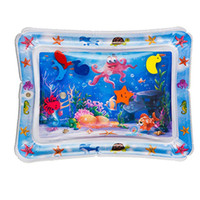 Wholesale activity mats for sale - Group buy Baby Kids Water Play Mat Toys Inflatable thicken PVC infant Tummy Time Playmat Toddler Activity Play Center water mat for babies