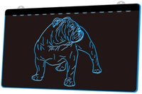 mostrar perros al por mayor-LS1084-b-dogo-perro-Shop-Pet-Display-Nueva-neón-Light-sign.jpg decoración Dropshipping de envío libre al por mayor 8 colores para elegir