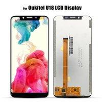 iphone 4s tam ekran değiştirme toptan satış-Orijinal Oukitel U18 için LCD Ekran U18 Dokunmatik Ekran LCD Ekran Yedek Parçalar + Demonte Aracı + 3 M Yapıştırıcı