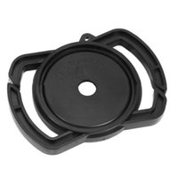 Wholesale pentax camera lens cap resale online - 1PC Camera lens cap buckle holder keeper for Canon Nikon Sony Pentax mm