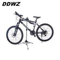suporte de bicicleta portátil venda por atacado-Suporte de Reparo da bicicleta Ajustável Estacionamento 70-132 CM Liga de Alumínio Acessórios Da Bicicleta de Montanha Portátil Dobrável Ao Ar Livre # 593103