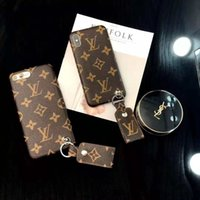 Wholesale one x phones for sale – best One Piece Luxury Brand PU Leather Designer Phone Cases for IPhone X XS MAX XR S Plus Back Cover Fashion phone Case for gifts