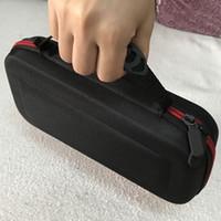 naylon çanta taşımak toptan satış-Yüksek Kalite Taşınabilir Koruyucu Naylon Kumaş Kılıfı Çanta Nintendo Anahtarı Oyunu Çanta Seyahat Taşıma çantası Sert Çanta