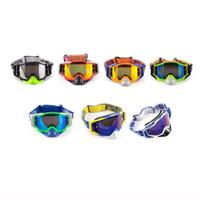 gafas anti arena al por mayor-Gafas de esquí ajustables Máscara Gafas Esquí Hombres Mujeres Nieve Snowboard Gafas Anti-arena Anti-UV a prueba de viento Transpirable