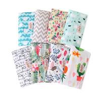 Wholesale dry chocolate resale online - Baby Diaper Bag Waterproof Mummy Bags Reusable Baby Changing Pads Travel Bags Patterns Print Newborn Diapering Bag
