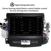 ingrosso schermo lancer-HD + 4 64GB Android 9.1 Car Multimedia Player 9 '' stereo di navigazione DVD per Mitsubishi Outlander 2006-2014 Capo Unità cassetta DVD GPS