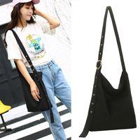 Wholesale girls pocket money bag resale online - Women Lady Girl Shoulder Crossbody Bag Canvas For Mobile Phone Shopping Money New