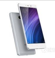 lenovo phone toptan satış-Orijinal Xiaomi Redmi 4 5 inç 3G RAM 32G ROM Snapdragon 430 Sekiz Çekirdekli 1280x720 4100 mAh 13.0MP 4g Lte Telefon Vs Lenovo Vibe P1 Başbakan