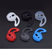 étuis iphone oreilles achat en gros de-Silicone airpods Ecouteurs Etuis Earplugs pour iphone X 7 In-Ear Airpod Earbuds Embouts embouts 500PAIR / LOT