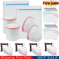 mesh-taschen zum waschen von kleidung großhandel-Großer faltbarer Wäschekorb mit herausklappbarem Wäschekorb zum Waschen von Kleidung - Original-Titel anzeigen