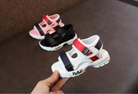 sandales de gladiateur masculin achat en gros de-2019 été enfants sandales nouveaux enfants loisirs de plein air chaussures confortables bébé fille antidérapantes chaussures de plage