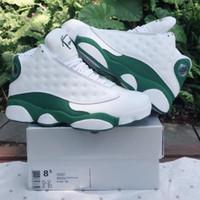sapatos allen de allen venda por atacado-Com Caixa 13 Ray Allen PE Celtics 2020 Lakers GiGi 13 s Com Caixa Melhor Qualidade Por Atacado Sapatos de Basquete Homens