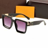 caixas de presente para copos venda por atacado-Designer de alta Qualidade Óculos Frames Homens Mulheres Óculos Tendência Vintage Óculos De Sol Mulheres Designer De Marca Senhoras Óculos De Sol Com Caixa De Presente
