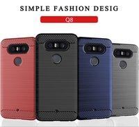 lg telefone modelle großhandel-Weiche telefonkasten für lg q stylus alpha q stylo + q8 2018 q7 alpha k11 2018 alle modelle telefon abdeckung klassische shell