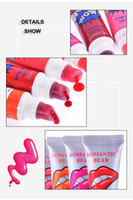 Wholesale collagen lipsticks for sale - Group buy Brand New Lip Gloss Peel off Lasts For h No Stain Marine Collagen Lipstick Balm Plant Romantic Bear Makeup Moisturizing Lip Mask