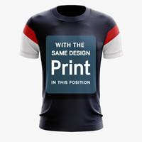 özel gömlekler toptan satış-Toptan kuru fit Tamamen Süblimasyon Özel Çiftler Unisex Gömlek Masa Tenisi Badminton Forması Ücretsiz Kargo Müşteri