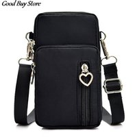 Wholesale universal cell phone wallet purse for sale – best Women Phone Bag Universal Cellphone Wallet Bags Arm Shoulder Pouch Pocket Mini Adjustable Belts Casual Sports Crossbody Purse