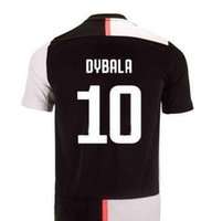 Wholesale 2019 home Soccer Jersey BUFFON RONALDO DYBALA Soccer Shirt Customized MARCHISIO MANDZUKIC PJANIC CHIELLINI HIGUAIN football uniform