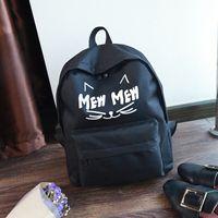 freizeitbeutel groihandel-Frauen Kinder Schultasche Rucksack Freizeit Korean Damen Rucksack Laptop Reisetaschen für Mädchen im Teenageralter Fashion School Rucksack