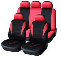 asientos de coche de cubierta completa al por mayor-Cubierta de asiento de coche universal 9pcs asiento cubiertas completas guarniciones crossover nuevos sedanes interior auto Accesorios de coches adecuados para el cuidado del asiento de coche del protector