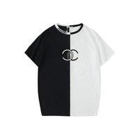 street style tshirts بالجملة-19ss فاخرة قمصان رجالي مصمم بلايز الصيف ماركة الأعلى تيز قصيرة c إلكتروني التطريز الهيب هوب رجل ملابس الشارع أسلوب x B100814K