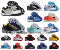 ingrosso kb scarpe da ginnastica-Hot MAMBA Zoom Kobe IV 4 KB Protro Progetto Day Hornets Carpe Diem Del Sol di pallacanestro di sport Uomo Scarpe Sneakers ZK4 4s Dimensioni US7-12