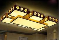 led kapalı tavan fikstürü toptan satış-Modern LED Tavan Avize Lambası Salon Yatak odası Restauran kapalı ev aydınlatma LLFA için Tavan Avize Işıklar armatürü LED