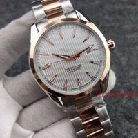 ingrosso uomo orologio aqua-Luxury Mens Watches Bracciale in acciaio inossidabile Aqua Terra 150m Master 23110422101004 Designer Uomo Orologi da uomo Orologio da polso automatico