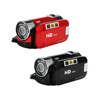 Wholesale Hot P HD Video Camera Camcorder x Digital Zoom Handheld Digital Cameras Retail