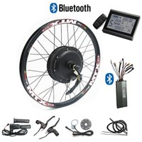 CSC 48V 1000W Electric Bicycle Conversion Kit for Disc brake Bike with Regeneration LCD display and bluetooth 24''-29''