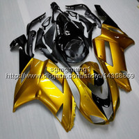 kawasaki ninja 636 gold großhandel-23 farben + Geschenke gold motorradhaube Für Kawasaki Ninja ZX636 ZX-6R 07 08 ZX6R 2007-2008 zx-636 ABS motorradverkleidung