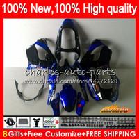 Wholesale Body For KAWASAKI ZX900 blue glossy ZX9 R ZX R R CC HC ZX900CC ZX9R ZX R Full Fairings kit
