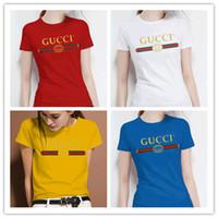 más monos tamaño para las mujeres al por mayor-2019 Supremo monos de mujer Marcas italianas verano estilo caliente marcas de decoración de alta calidad de dama T-shirt ropa de mujer más el tamaño w