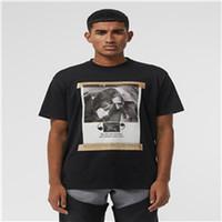 chalecos de hombre impresos al por mayor-9ss BBR Crewneck INS hombres y mujeres de lujo camisa polo Camisetas de algodón de impresión de manga corta camiseta de verano chaleco transpirable Streetwear al aire libre