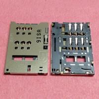 cartão sim zte venda por atacado-2pcs SIM Card Reader Suporte bandeja slot do conector para ZTE Nubia z5 mini-z5mini NX402 NX401 NX40X U956 U807 plugue ocket