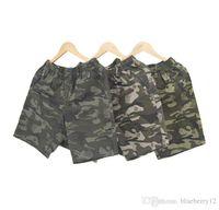 camo pantolon boyutu 28 toptan satış-Erkek Yaz Şort Pop Hip Hop Camo Pantolon Erkek Elastik Bel XL Için Büyük Boy Spor Şort Için 4XL