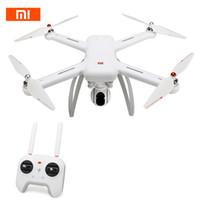 rc drone cámara gps al por mayor-Xiaomi Mi Drone WIFI FPV original con 4K 30fps 1080P Cámara 3 ejes Eje GPS RC Drone Quadcopter RTF con transmisor