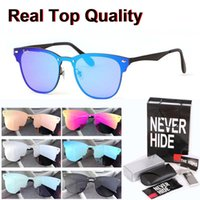 Wholesale accessories plastic packaging for sale – best Top quality sunglasses men women Brand Design Alloy frame uv400 lens Oculos De Sol with original box packages accessories everything