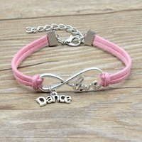 Wholesale velvet wrap bracelet for sale - Group buy Luxury Dance Letter Charm Adjustable Bracelets infinity Love Wish velvet Rope Wrap Bangle For women Girl Fashion simple DIY Jewelry