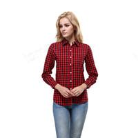 bluz fiyatları toptan satış-Best Seller İyi Fiyat Yüksek Kalite Ücretsiz Boyutu Iyi Kumaş Bluzlar Gömlek Giyim Hızlı Teslimat Uzun kollu kadın Giyim Rahat Flora