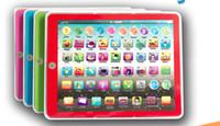 mini tableta al por mayor-Nuevo 2019 juguetes educativos para niños Tableta grande Máquina de aprendizaje para niños Educación temprana Máquina de lectura de punto Juguetes de regalo