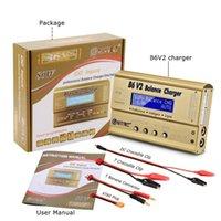 ingrosso caricabatterie di vita-Equilibrio della batteria di IMAX B6 V2 80W digitale professionale caricatore scaricatore per LiHV LiPo LiFe LiIon NiCd NiMH PB Batteria