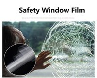 filme de janela de vendas venda por atacado-Car 70 centímetros x 30m Limpar Segurança Segurança Window Film Proteção Vidro Anti Shatter Home Office adesivos Hot Sale Atacado