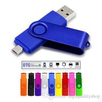 64gb micro-usb-flash-laufwerke großhandel-Otg USB-Flash-Laufwerk für Android-Telefon Micro USB 128 GB 64 GB 32 GB 16 GB Memory Stick Geschenk Scheibe auf Schlüssel