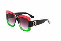 ingrosso occhiali da api-Luxury Italia classico marchio logo 0083 occhiali da sole donna ape design moda occhiali da sole uomo di buona qualità guida occhiali da sole
